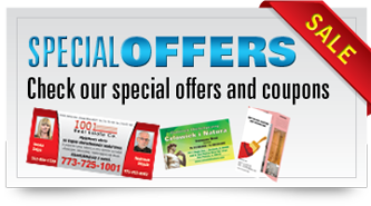 Special offers on printing